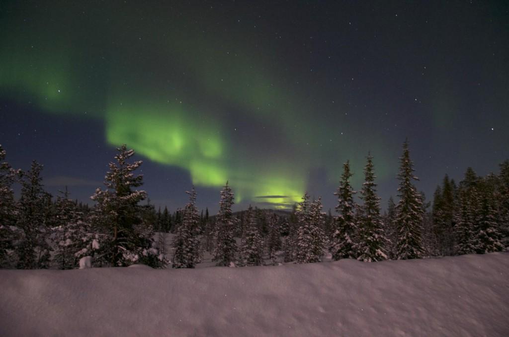 Our first polar lights